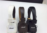 ubit bluetooth lautsprecher großhandel-Heißer Verkauf Marshall Kopfhörer Major Mit Mikrofon Große Bass Hi-Fi Headset HiFi Kopfhörer Professionelle DJ Monitor Kopfhörer