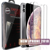 Wholesale note screen shield for sale - Group buy For Samsung S9 S8 S7 S6 screen protector For NEW iphone X s SE s plus shield Screen Protector Film For S6 Samsung Note retail