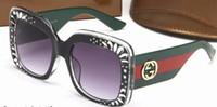 lente de aviador al por mayor-La más nueva moda gafas de sol del océano para las mujeres marca marco de metal gafas de sol amarillas lente rosa gafas de sol gafas amarillas aviador 3862