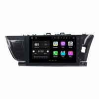 Wholesale android rear mirror dvr for sale - Group buy For Toyota Corolla Right quot Android Quad Core GB RAM Car DVD Car Radio DVD GPS With Bluetooth WIFI Mirror link USB DVR
