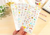 cuaderno diario diy al por mayor-Kawaii día soleado pegatina de la vida Diario del planificador Diario del libro de recuerdos DIY decoración del teléfono portátil Ablums decorativo