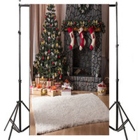 Wholesale printing photo wood wholesale for sale - 5X7ft Christmas Balls White Wood Floor Photography Backdrop Fabric Photo Backdrops Customized Studio Background