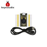Wholesale usb development board for sale - Group buy Keyestudio PRO MICRO ATmega32U4 V MHz Development Board with Row Pin Header M USB Cable For Leonardo Pin Header Unwelde