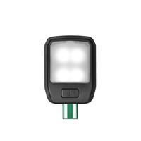 светодиодный фонарь для чтения оптовых-Портативный гибкий складной светодиодный зажим при чтении перезаряжаемая книга свет лампы для чтения Kindle