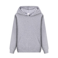 Wholesale clothes factory outlet for sale - Men Casual Hoodies Sweatshirt Solid Color Print Trend Fleece Cotton Pullover Coat Warm Clothes Factory Outlet