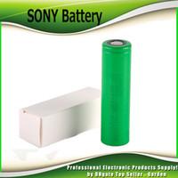 mod caixa usada venda por atacado-Alta Qualidade SONY VTC6 3000 mAh VTC5 2600 mAh VTC4 2100 mAh 3.7 V Li-ion 18650 Bateria Recarregável Baterias Usando para Ecig Box Mods