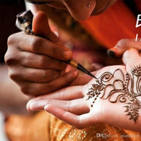 pintura removible al por mayor-Removable Tattoos Body Art Painting Mini Natural Indian Tattoo Pasta de Henna Body Drawing Paint Tatuajes a prueba de agua