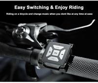 lenkrad montiert bluetooth großhandel-Neue Universal Auto Rad Bluetooth Media BT-M2 Lenkrad Fernbedienung Montage Clip Bluetooth Medien Für Auto Fahrrad