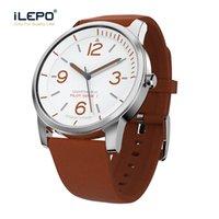 câmera de relógio de quartzo venda por atacado-Moda smartwatch smart watch bluetooth 4.0 câmera lembrando rastreador de fitness 30 metros de profundidade à prova d 'água relógio de quartzo inteligente