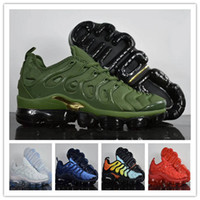 Wholesale Silver Bowtie - Wholesale Plus Vapormax TN Sports Running Shoes Men Sneakers Run Triple Casual Air Cushion Sport Athletic Outdoor Hiking Jogging Shoes 40-45