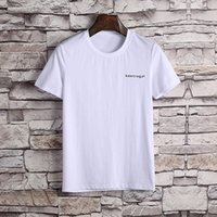 Wholesale T Shirts Wholesale Famous Brands - 2018 top tee Paris American Stars Fan Made Fashion Men Luxury Famous brand T-Shirts free DHL