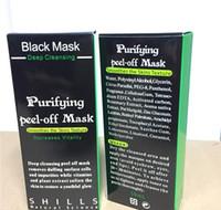 shills máscara de limpieza profunda al por mayor-2018 Máscara de Succión Negra Anti Envejecimiento 50 ml SHILLS Limpieza Profunda Purificante Exfoliante Mascarilla Negra Eliminar Blackhead Peel Masks