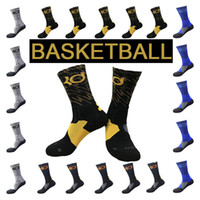 Wholesale Elite Football Socks - Medium length Sports Socks 2017 18 USA Professional Elite Men's Adult Basketball Fashion