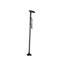 Wholesale walking stick crutches - 2017 New Hot Sale Tusty Cane Sturdy Folding Cane with Built-In Lights Adjustable Handle T-type Crutch Ultra-light Walking Sticks