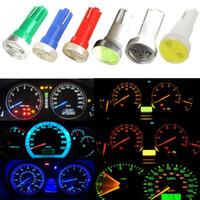 amarillo, advertencia, luz, coche al por mayor-T5 COB 74 W1.2W 1W LED Panel de instrumentos del vehículo Indicador de advertencia Luces indicadoras Luces indicadoras DC 12V