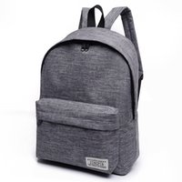b3857d283024 2017 Brand Canvas Men Women Backpack College Students High Middle School  Bags For Teenager Boy Girls Laptop Travel Backpacks