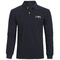 Wholesale mens golf polo shirt xl for sale - Group buy 20SS Long sleeves Luxury Eà7 polo shirts Mens Brand summer Male Sweatshirt Mens Hip Hop golf Newest designer Sports t shirts Tracksuit