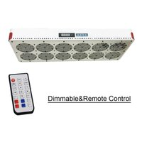Wholesale Apollo Led Grow - NEW Full Spectrum Grow Light Apollo 12 Dimmable Remote Control with 180x3W High Efficiency Grow LED. Supply Spectrum Customize
