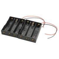 продавцы аккумуляторов оптовых-Бестселлер 2 шт. три слота 3x 18650 мобильный держатель батареи чехол клип с проводами высокое качество NI5L