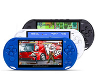 Wholesale e games for sale - 8GB X9 Handheld Game Player Inch Large Screen Portable Game Console MP4 Player with Camera TV Out TF Video for GBA NES Game