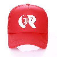 a8c65092944 CR7 Baseball Hat Kids Adult Summer RONALDO Caps FANS Trucker Cap JJ Net Snapback  hats hat For Men Women