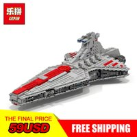 Wholesale fight set - NEW LEPIN 05042 Star Model 1200pcs The Republic Fighting Cruiser Set Model Building blocks Bricks Compatible 8039 Toy Gift