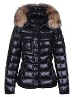 Wholesale organic brands online - Classic Brand Women Winter Warm Down Jacket With Fur collar Feather Dress Jackets Womens Outdoor Down Coat Woman Fashion Jacket Parkas M1