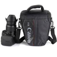 kameras 7d großhandel-Wasserdichte DSLR-Kamera-Tasche für Canon 100D 200D 77D 7D 80D 800D 6D 70D 550D 500D 450D T6i T5i T6 T5 T4 Canon Kameratasche