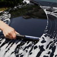 ön cam yıkama toptan satış-Ücretsiz kargo yentl Silikon Araba Pencere Yıkama Temizleyici Silecek Silecek Kurutma Blade Duş Takımı Kolu Yıkanabilir Fırça Araba Pencere Cam