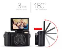 dijital kamera telefoto lensler toptan satış-En çok satan 24 milyon piksel HD yarı-dijital SLR 4 kez telefoto ile profesyonel dijital kamera, balıkgözü geniş açılı lens kamera makro