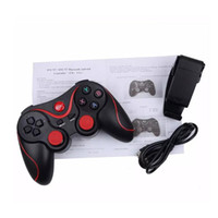 Wholesale wireless games pad android online - C8 Smartphone Game Controller Wireless Bluetooth Phone Gamepad Joystick for Phone Pad Android Tablet PC TV BOX phone holder