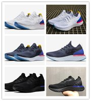 Wholesale Tops For Women Sale - 2018 Top Quality Epic React Instant Go Fly Breath Comfortable Sport Best Boost Size 5-11 Mens&Women Running Shoes For Sale Athletic Sneakers