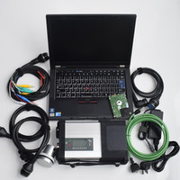Wholesale automotive analyzer for laptop for sale - WIFI V2018 MB Star C5 SD Connect Compact C5 with Thinkpad T410 i7 Laptop for MB Cars and Trucks