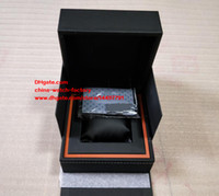 Wholesale Luxury Black Calibre 16 - Luxury High Quality Watch Box TAG Brand Watch Original Box Papers Handbag Boxes Use Calibre 16 17RS 17RS2 36RS ETA 7750 Chronograph Watches