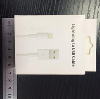 Wholesale cable prices online - retail box package for iphone adapter usb data cable retail box for iphone cable with factory price