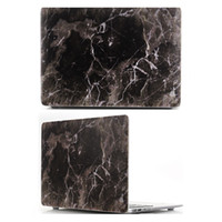 Wholesale Marble Rubberized Plastic Hard Shell Full Body Proctive Cover Laptop Case For MacBook Pro Retina Pro OPP Bag Soundmae