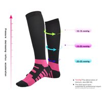Wholesale leg slimming socks - Hot Women Men Anti-Fatigue Magic Leg Warmers Slimming Socks Miracle Anti Fatigue Compression Socks Sport Basketball Long Tube Socks