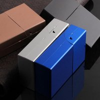 Wholesale study case for sale - New Pattern Box Originality Aluminium Alloy Case Simplified Design With Colorful Casket For Gift Making Mens Brand xd ff