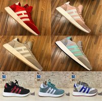 Wholesale Very Pink - Very popular Newest 2018 INIKI RUNNER W Running Shoes Retro sports shoes Men Women High Quality Ultra Boost Shoes size 36-44 drop shipping