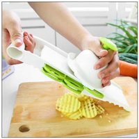 Wholesale Tool Stock - 5 in1 Multi-function Plastic and Stainless Steel Blades Vegetable Fruit Slicer Fruit Vegetable Tools Kitchen Tools CCA8585 72pcs