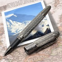 Wholesale best art supplies - Best Sellers Luxury High Quality Writers daniel defoe Metal pen with maple leaf Clip office&school supplies ballpoint pens for writing gift
