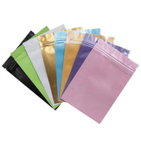 Wholesale electronics packaging bags for sale - Group buy Aluminum Foil packet Multi size self seal packing for Data lines medcines tea bags Electronics mm transparence envelope packaging