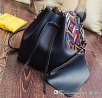 Wholesale female crocodiles - Fashion Brand Designer Classic Bag Women Famous Shoulder Bag Leather Canvas Strap Handbags Luxury Womens Female Bags with wallets