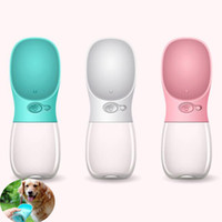 Wholesale cat water bottle dispenser for sale - Group buy Pet Supplies ML Pet Dog Cat Water Bottle Drinking Dispenser Outdoor Sports Water Feeder Cup Fedding Bottle Dog Feeders