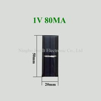 Wholesale 1V mA W x20mm Mini Epoxy Solar Cell for DIY