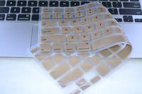 teclado macbook à prova d'água venda por atacado-UE eua tampa para macbook air pro retina 13 15 tampa do teclado de silicone macio à prova d 'água para macbook air pro 13 teclado