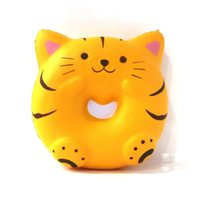 Wholesale science sale - Kawaii Squishy Simulation Food Slowly Rising Pressure Reduce Toy Squishies Tiger Bread Decompression Toys Hot Sale 10ge W