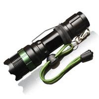 led-taschenlampen großhandel-Neue Taschenlampen CREE XML T6 Lumen LED Taschenlampe Zoomable Tactical Cree LED Taschenlampe Licht Für 3xAAA oder 1x18650 Batterie