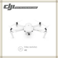 Wholesale alpine white - DJI Mavic Pro Alpine White 4K HD Camera 12M Pixels Combo Aerial Photograph 3-axis More Stable Free DHL