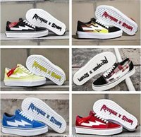 620d8b88e406 2018 Revenge x Storm Old Skool Classic Green Blue Black Red Yellow Mens  Women Casual Shoes sneakers skateboard shoes With Box